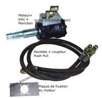 Pompe hydraulique prise de force micro tracteur