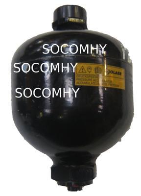 Accumulateur boule d'azote