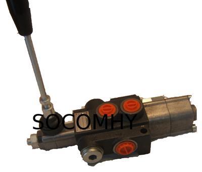 Distributeur hydraulique double effet pour fendeuse