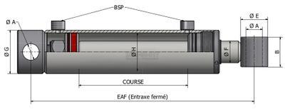 v rin hydraulique double effet prix usine forces20x32 long255x355. Black Bedroom Furniture Sets. Home Design Ideas