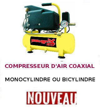 Compresseur air coaxial